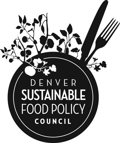 Denver Sustainable Food Policy Council monthly meeting @ 1031 33rd Street, Suite 100 | Denver | Colorado | United States